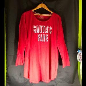 Victoria's Secret Santa Sleep Shirt